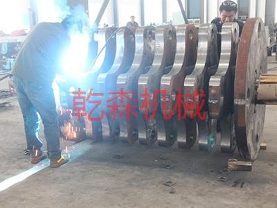 转子焊耐磨层